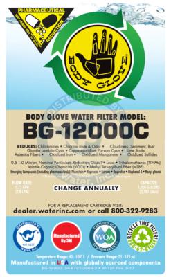 BG-12000 label