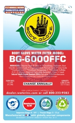 BG-6000FF Label